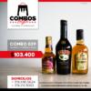 CBGA029 - Ron Viejo de Caldas Tradicional + Crema de Whisky Baileys + Whisky Chivas Regal Extra