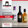 CBGA030 - Ron Viejo de Caldas Tradicional + Crema de Whisky Baileys + Aguardiente Cristal