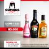 CBGA032 - Ron Viejo de Caldas Tradicional + Crema de Whisky Baileys + JP Chenet