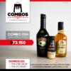 CBGA034 - Ron Viejo de Caldas Tradicional + Crema de Whisky Baileys + Crema de Whisky Baileys Mini