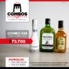 CBGA038 - Ron Viejo de Caldas Tradicional + Whisky Black & White 8 años + JP Chenet