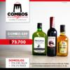 CBGA039 - Ron Viejo de Caldas Tradicional + Whisky Black & White 8 años + Gato Negro Vino (1)